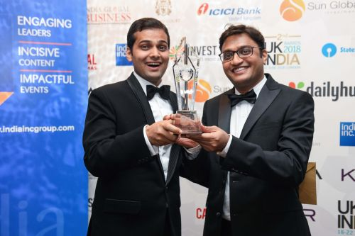 Carbon Clean Solutions Named Winner of the Science, Technology and Innovation Category at UK-India Awards 2018