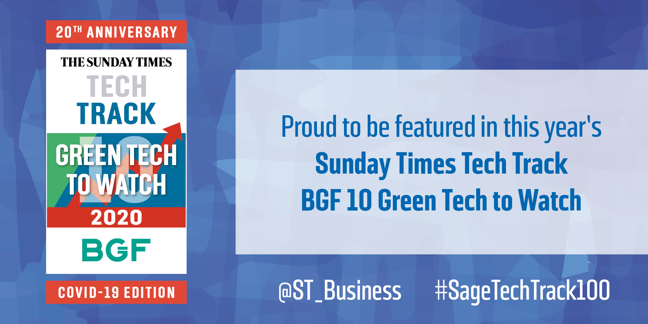 Carbon Clean named one of Britain's ten green tech companies to watch by the Sunday Times